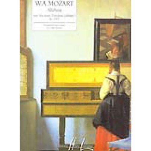 LEMOINE MOZART W.A. - ALLELUIA KV165 EXTRAIT DE EXULTATE JUBILATE - PIANO