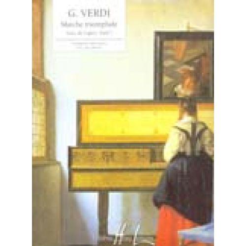 LEMOINE VERDI GIUSEPPE - MARCHE TRIOMPHALE EXTRAIT D'AÏDA - PIANO