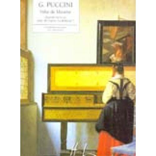 LEMOINE PUCCINI GIACOMO - VALSE DE MUSETTE EXTRAIT DE LA BOHÈME - PIANO