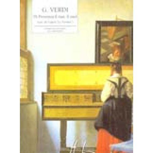 LEMOINE VERDI GIUSEPPE - DI PROVENZA IL MAR, IL SUOL EXTRAIT DE LA TRAVIATA - PIANO