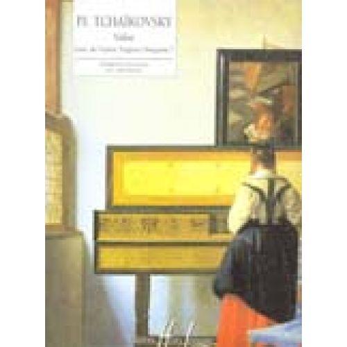 LEMOINE TCHAIKOVSKY PETR-ILITCH - VALSE EXTRAIT D'EUGÈNE ONÉGUINE - PIANO