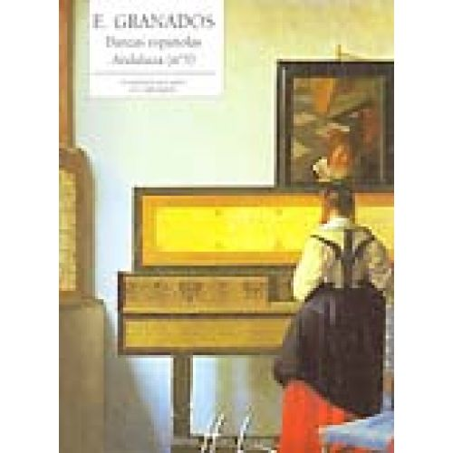 LEMOINE GRANADOS E. - DANSE ESPAGNOLE N°5 ANDALUZA - PIANO