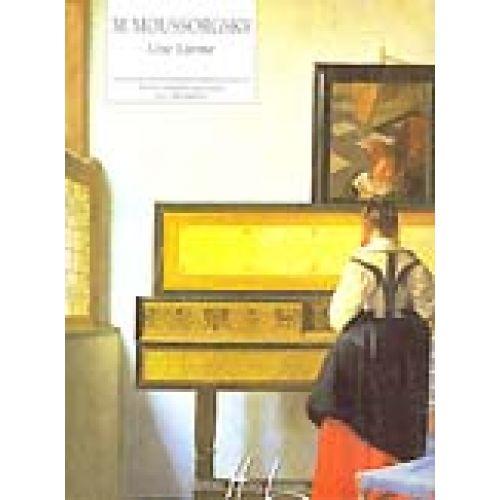LEMOINE MOUSSORGSKY M. - UNE LARME - PIANO