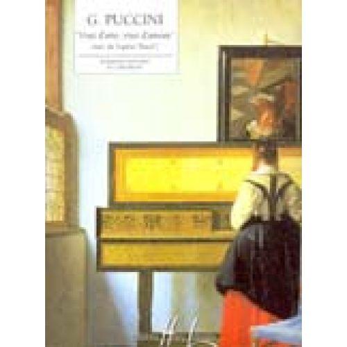 LEMOINE PUCCINI GIACOMO - VISSI D'ARTE, VISSI D'AMORE ESTRAIT DE TOSCA - PIANO