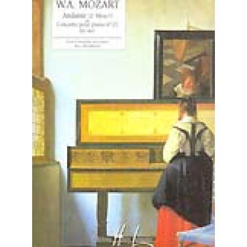 LEMOINE MOZART W.A. - ANDANTE DU CONCERTO POUR PIANO N°21 KV467 - PIANO