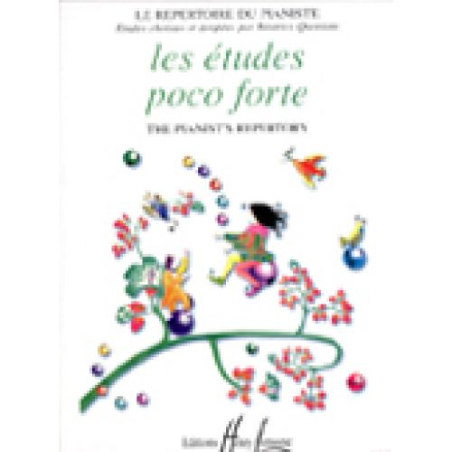 LEMOINE QUONIAM BÉATRICE - POCO FORTE ETUDES - PIANO