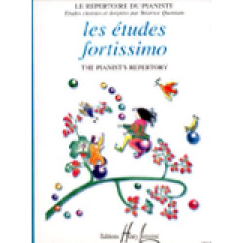 LEMOINE QUONIAM BÉATRICE - FORTISSIMO ETUDES - PIANO