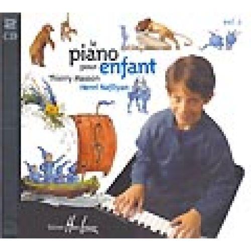 LEMOINE MASSON T./ NAFILYAN H. - PIANO POUR ENFANT VOL.2 - CD SEUL - PIANO