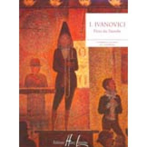 LEMOINE IVANOVICI JAN - FLOTS DU DANUBE - PIANO