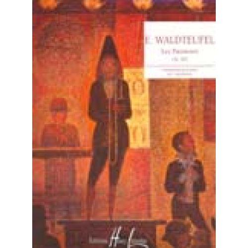 LEMOINE WALDTEUFEL EMILE - PATINEURS OP.183 - PIANO