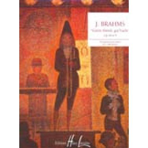 LEMOINE BRAHMS JOHANNES - BERCEUSE GUTEN ABEND, GUT'NACHT OP.49 N°4 - PIANO