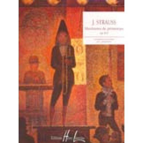 LEMOINE STRAUSS J. - MURMURES DE PRINTEMPS OP.410 - PIANO