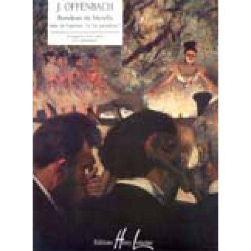 LEMOINE OFFENBACH J. - RONDEAU DE METELLA EXTRAIT DE LA VIE PARISIENNE - PIANO