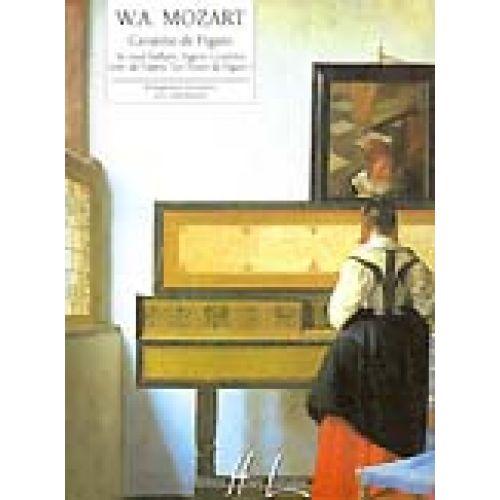 LEMOINE MOZART W.A. - CAVATINE DE FIGARO EXTRAIT DES NOCES DE FIGARO - PIANO