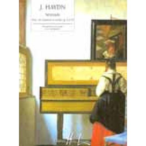 LEMOINE HAYDN J. - SERENADE EXTRAIT DU QUATUOR OP.3 N°5 - PIANO