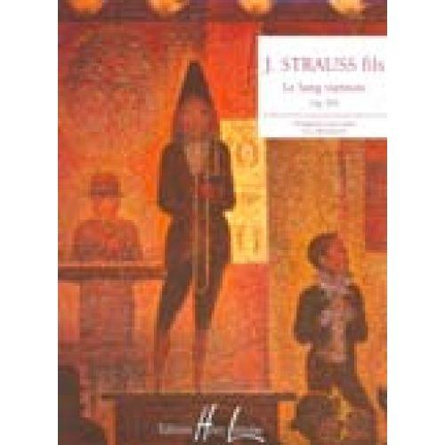 LEMOINE STRAUSS JOHANN - SANG VIENNOIS OP.354 - PIANO