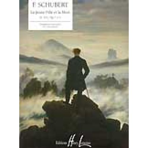 LEMOINE SCHUBERT F. - JEUNE FILLE ET LA MORT D.531 - PIANO