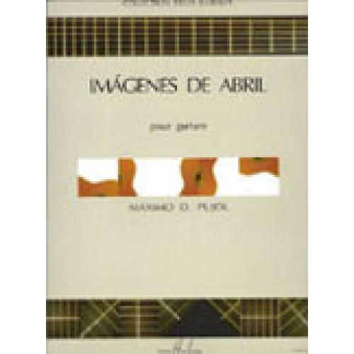 LEMOINE PUJOL M.D. - IMAGENES DE ABRIL - GUITARE