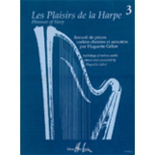 LEMOINE GELIOT HUGUETTE - LES PLAISIRS DE LA HARPE VOL.3