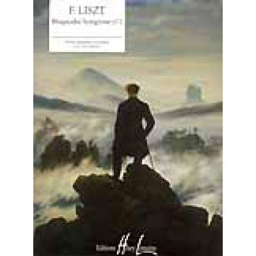 LEMOINE LISZT F. - RHAPSODIE HONGROISE N°2 - PIANO