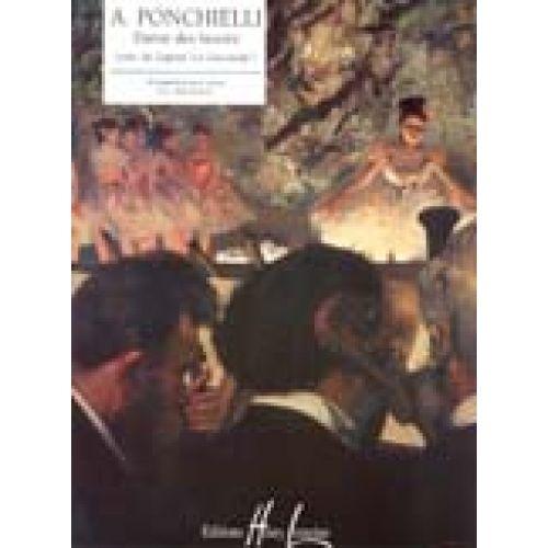 LEMOINE PONCHIELLI AMILCARE - DANSE DES HEURES EXTARIT DE LA GIOCONDA - PIANO
