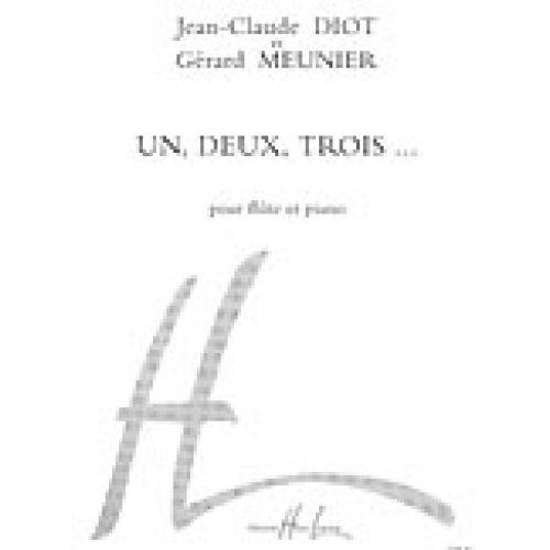 LEMOINE MEUNIER G./ DIOT J.C. - UN, DEUX, TROIS... - FLUTE, PIANO