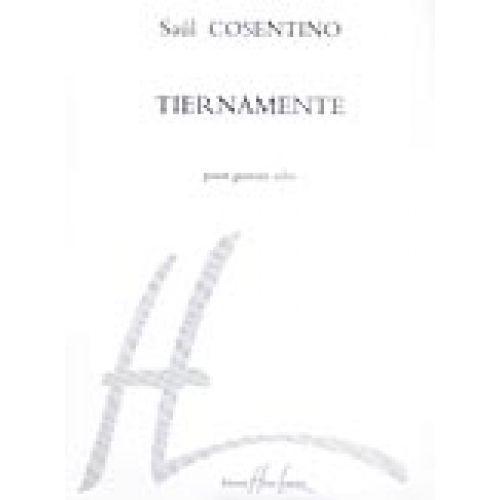 LEMOINE COSENTINO SAUL - TIERNAMENTE - GUITARE