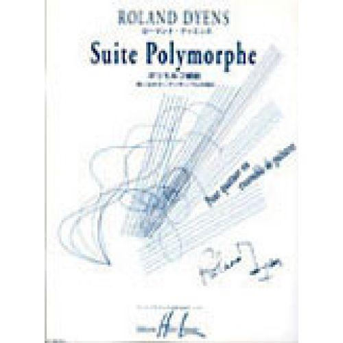 LEMOINE DYENS ROLAND - SUITE POLYMORPHE - 4 GUITARES