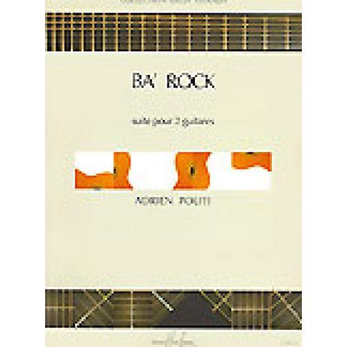 LEMOINE POLITI ADRIEN - BA' ROCK - 2 GUITARES