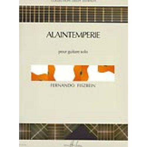 LEMOINE FISZBEIN FERNANDO - ALAINTEMPÉRIE - GUITARE