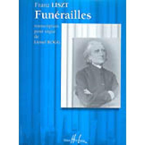 LEMOINE LISZT F. - FUNERAILLES - ORGUE