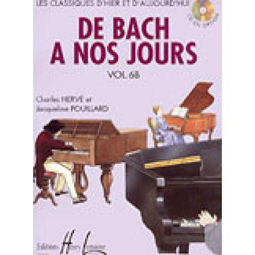 LEMOINE HERVE C. / POUILLARD J. - DE BACH À NOS JOURS VOL.6B - PIANO