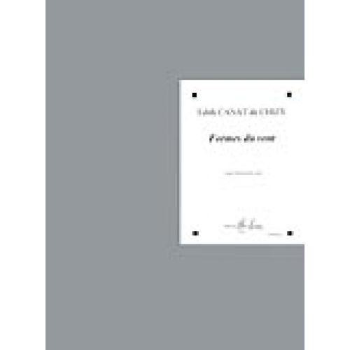 LEMOINE CANAT DE CHIZY E. - FORMES DU VENT - VIOLONCELLE
