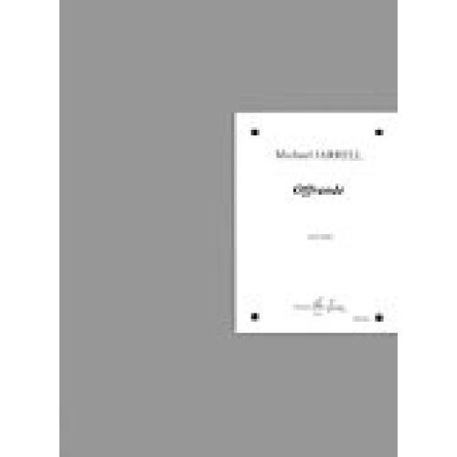 LEMOINE JARRELL M. - OFFRANDE - HARPE
