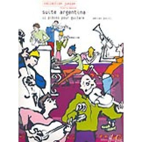 LEMOINE POLITI ADRIEN - SUITE ARGENTINA - GUITARE