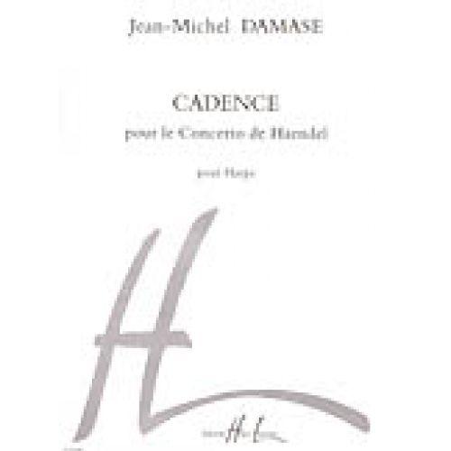 LEMOINE DAMASE JEAN-MICHEL - CADENCE DU CONCERTO DE HAENDEL - HARPE