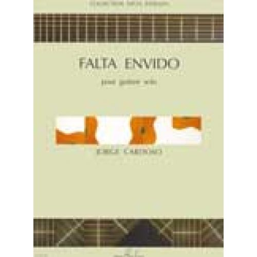 LEMOINE CARDOSO JORGE - FALTA ENVIDO - GUITARE