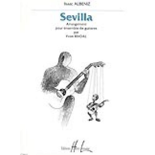 LEMOINE ALBENIZ IZAAC - SEVILLA - 4 GUITARES