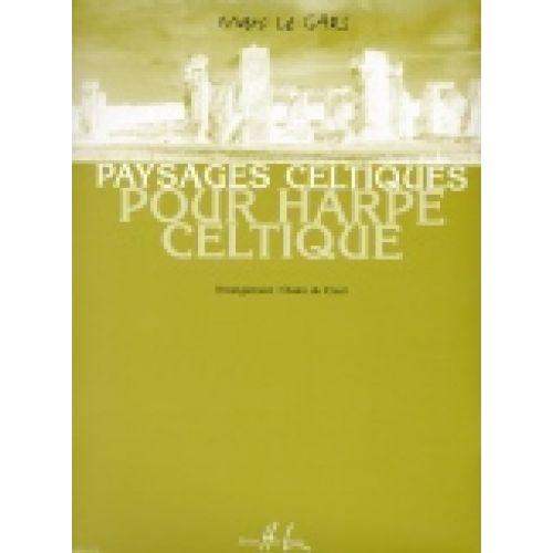 LEMOINE LE GARS MARC - PAYSAGES CELTIQUES - HARPE