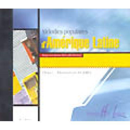 LEMOINE RIVOAL Y./ KOBIKI M. - MELODIES POPULAIRES D'AMERIQUE LATINE - CD SEUL - PIANO