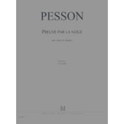 LEMOINE PESSON GERARD - PREUVE PAR LA NEIGE - CHOEUR