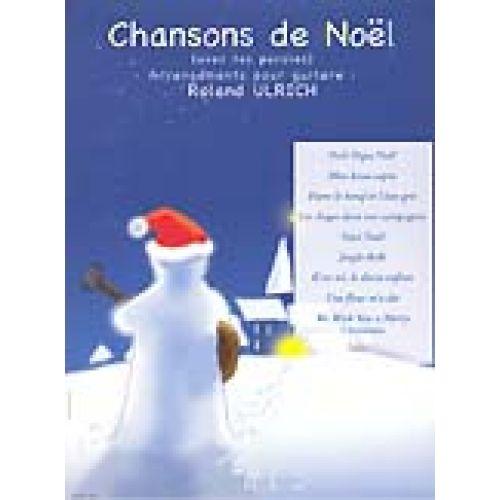 LEMOINE ULRICH ROLAND - CHANSONS DE NOEL - GUITARE