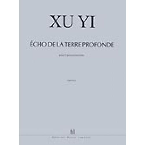 LEMOINE YI XU - ECHO DE LA TERRE PROFONDE - 5 PERCUSSIONS
