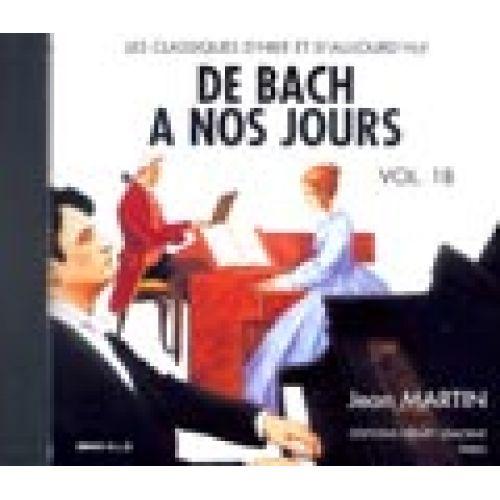 LEMOINE HERVE C. / POUILLARD J. - DE BACH À NOS JOURS VOL.1B - PIANO - CD SEUL
