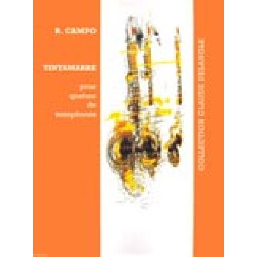 LEMOINE CAMPO REGIS - TINTAMARRE - 4 SAXOPHONES (SATB)