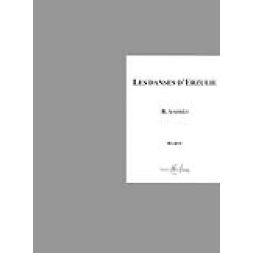 LEMOINE ANDRES BERNARD - DANSES D'ERZULIE - HARPE