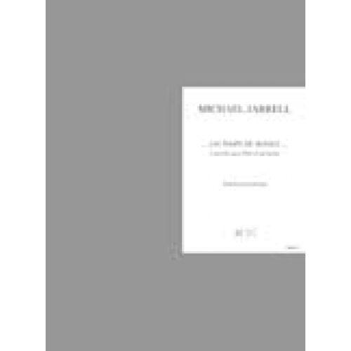 LEMOINE JARRELL M. - ...UN TEMPS DE SILENCE... CONCERTO POUR FLUTE - FLUTE, ORCHESTRE