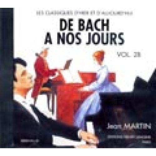 LEMOINE HERVE C./ POUILLARD J. - DE BACH A NOS JOURS VOL.2B - CD SEUL - PIANO