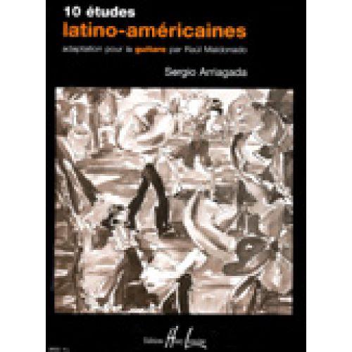 LEMOINE ARRIAGADA SERGIO - ETUDES LATINO-AMERICAINES (10) - GUITARE