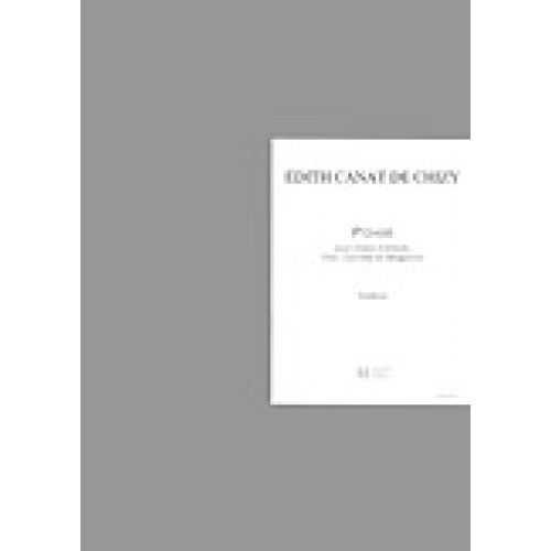 LEMOINE CANAT DE CHIZY E. - P'OASIS - CHOEUR D'ENFANTS, FLUTE, CLARINETTE, VIBRAPHONE